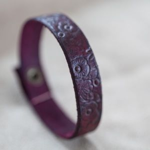 Genuine Leather | Black/Brown Bracelet